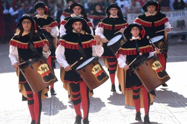 La XXXVIII^ edizione dei Campionati italiani sbandieratori e musici – Tenzone Aurea
