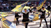 Antico e profondo il legame tra Ferrara e gli sbandieratori (foto Businesspress)
