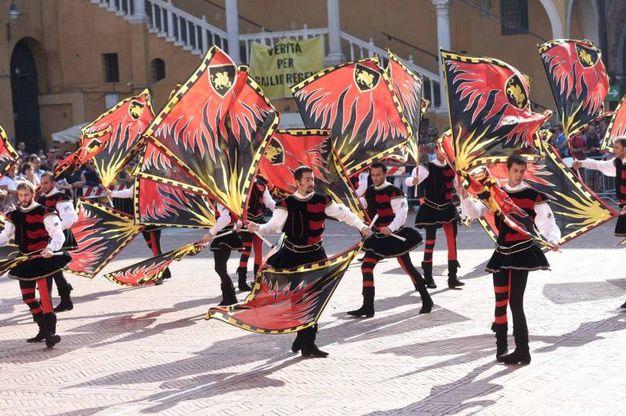La competizione tricolore di categoria A/1 denominata  Tenzone Aurea (foto Businesspress)