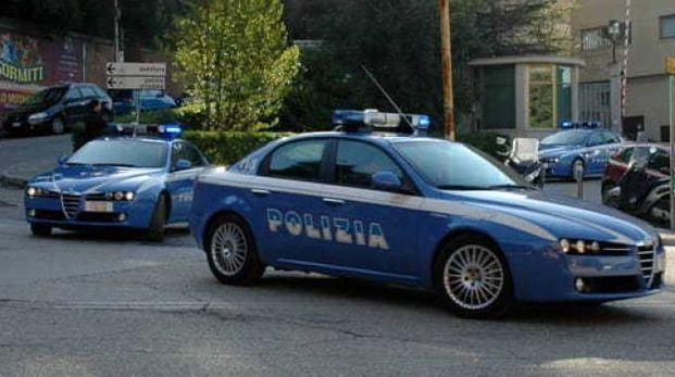 Blitz della polizia  (foto repertorio)