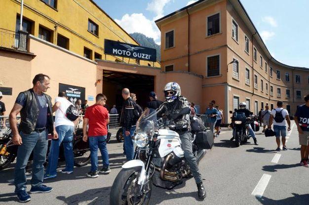 La festa alla Moto Guzzi / Cardini