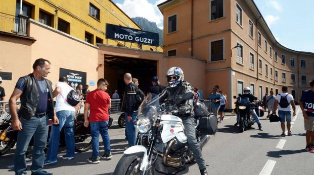 Il 97° Motoraduno alla Moto Guzzi