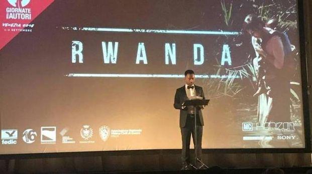 Riccardo Salvetti presenta il suo film alla Mostra internazionale d'arte cinematografica di Venezia