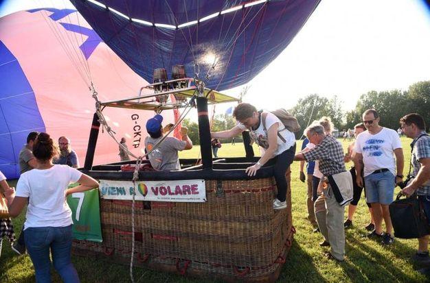 Uno dei più grandi eventi di mongolfiere in italia (foto Businesspress)