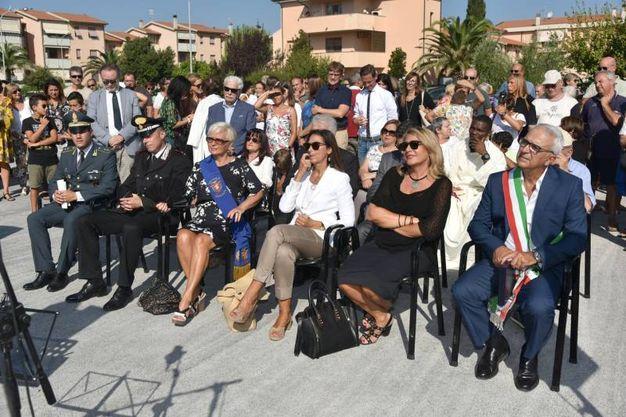 L'inaugurazione della scuola (Foto Agostini)