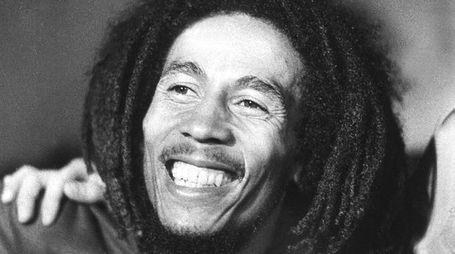 Il cantante Bob Marley in un'immagine del 1976 (Afp)