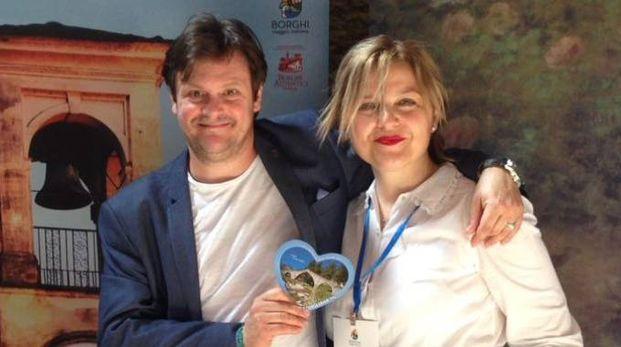L'assessore Gentilini col tenore Piero Picone a Roma per l'iniziativa 'Borghi, Viaggio Italiano'