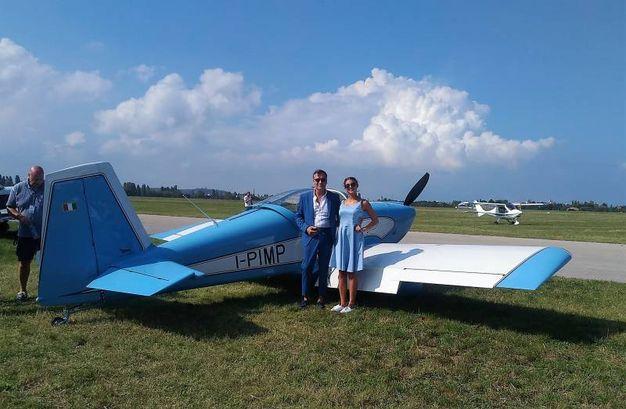 Il velivolo di Guido Pimpinelli