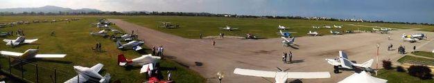 L'aeroporto di Fano visto dall'alto