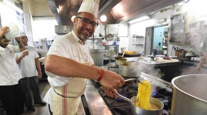 Lo chef Silvano Librenti