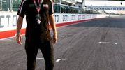 Alessandro Cattelan in pista