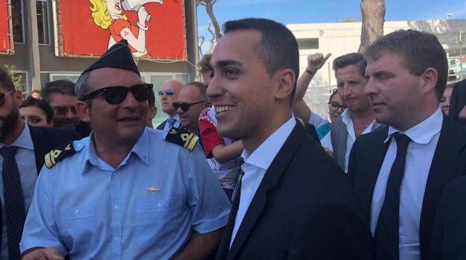Di Maio alla Fiera del Levante di Bari (Ansa)