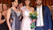La vincitrice Alessia Antonetti con Carmen Di Pietro e Alessio Forgetta
