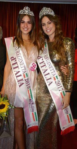 Antonetti con Miss Reginetta d'Italia 2017, Mena Venuso