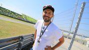 Cesare Cremonini ha assistito alla gara (Foto Petrangeli)