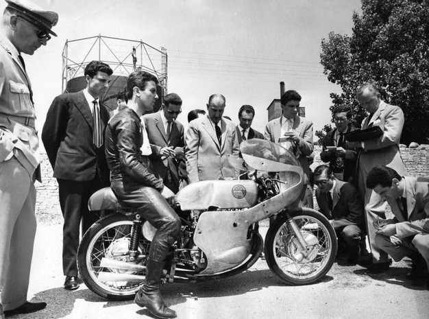 Silvio Grassetti, pilota d'altri tempi