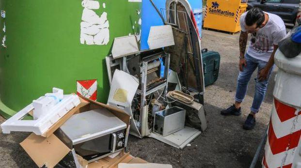 Polemiche sulla raccolta rifiuti