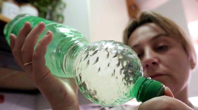 Acqua in bottiglia (foto repertorio)