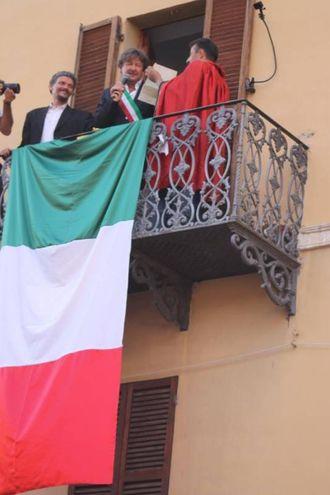 Il sindaco Giorgio Mochi annuncia la rielezione