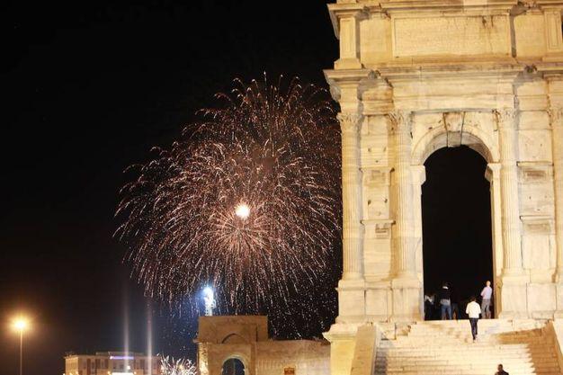 I fuochi d'artificio (Foto Antic)