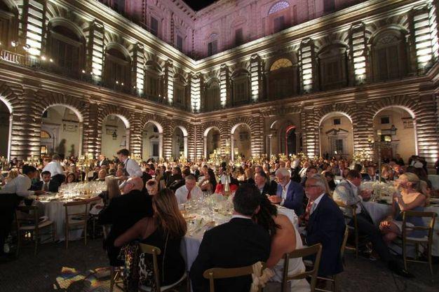 Celebrity night a Palazzo Pitti (Umberto Visintini/New Press Photo)