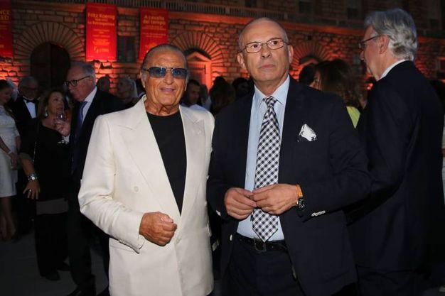 Celebrity Fight Night a Palazzo Pitti: Tony Renis e Filippo Zeffirelli  (Marco Mori/New Press Photo)