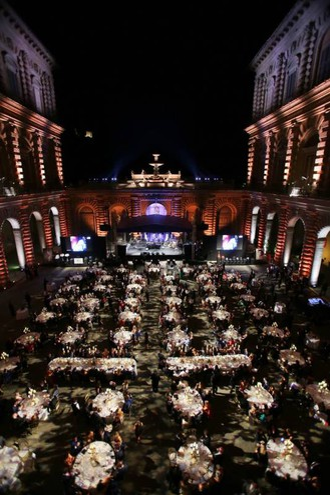 Celebrity Fight Night a Palazzo Pitti (Marco Mori/New Press Photo)