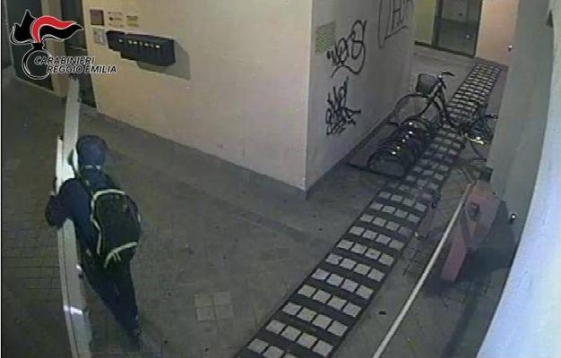 Un altro frame delle riprese delle telecamere