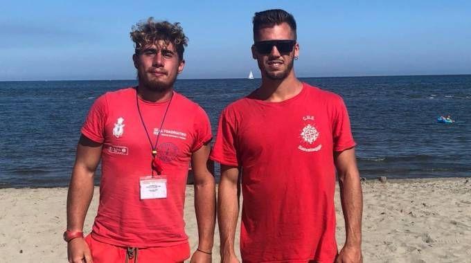 Da sinistra Alessandro Crepaldi (Alto Adriatiko) e Nicolò Natali (Cus)