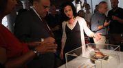 """Tesoro di Como, il ministro Bonisoli: """"Ritrovamento epocale"""" (foto Ansa)"""