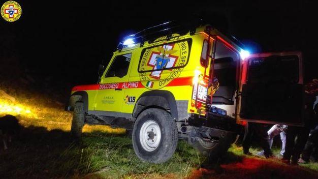 Monte Cusna: escursionista si perde e rimane bloccato in un canale