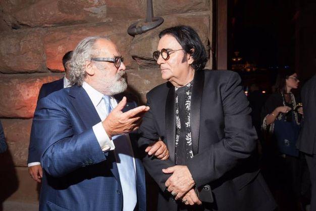 Stefano Ricci e Renato Zero