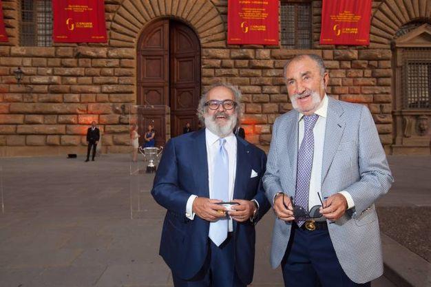 Stefano Ricci e Ion Tiriac