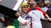 La vittoria a Misano nella Moto 3 (foto LaPresse)
