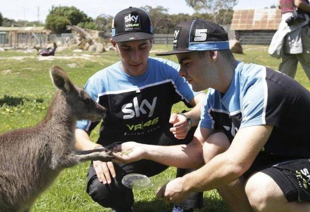 Prima del Gran Premio d'Australia nel 2016 (foto Ap)