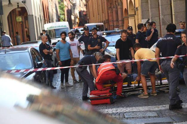 L'incidente è avvenuto verso le 15 (foto Schicchi)