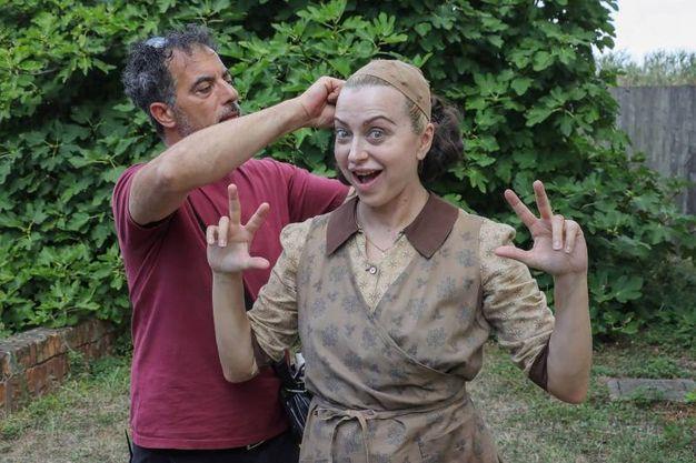 Chiara Sani, tra i protagonisti, aveva già lavorato con Avati ne 'Il papà di Giovanna' (foto Samaritani)