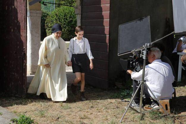 Le riprese de 'Il signor Diavolo' (foto Samaritani)