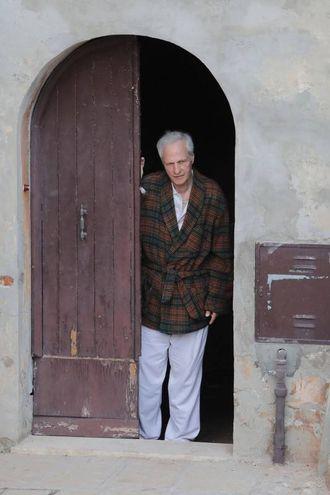 Un fantastico Lino Capolicchio tra i protagonisti del film (foto Samaritani)