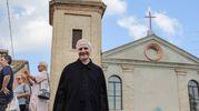 Lino Capolicchio in una scena (foto Samaritani)