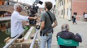 Un lavoro intenso che ha lasciato il regista e la troupe ampiamente soddisfatti (foto Samaritani)