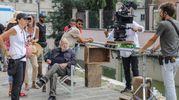 Le riprese della nuova produzione cinematografica di Pupi Avati (foto Samaritani)