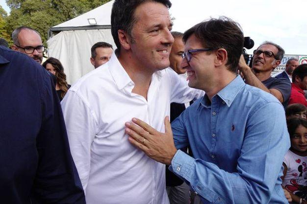 Matteo Renzi alla Festa dell'Unità di Firenze (Gianluca Moggi / New Press Photo)