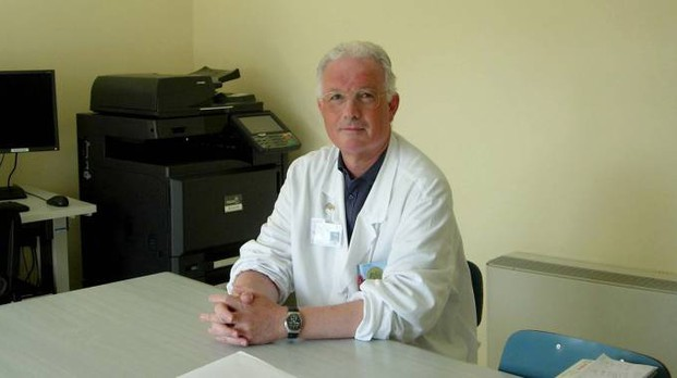 L'infettivologo Marco Libanore, primario all'azienda ospedaliero e universitaria