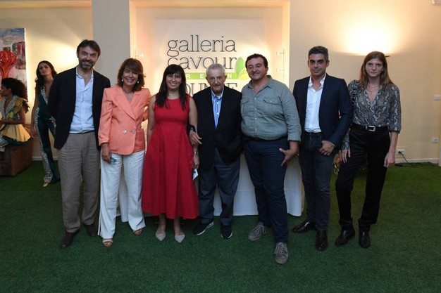 Guglielmo Garagnani, Paola Pizzighini Benelli, Paola Guidi, Alberto Masotti, Flaviano Celaschi, Federico Brighi e Caterina Ravaglia