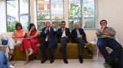 I relatori in Galleria Cavour