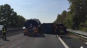 Il tamponamento tra un furgone e due camion ha portato alla chiusura dell'A13 tra Ferrara Nord e Ferrara Sud