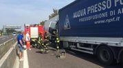 Due i camionisti feriti, ma non sono gravi
