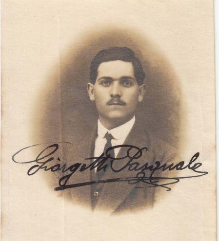 Giorgetti Pasquale (08/12/1893 - 27/07/1915) Iscritto alla Scuola di Pedagogia, a.a. 1914-15 II anno