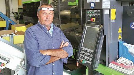 Abdon Paselli, titolare della Tecno-Plast